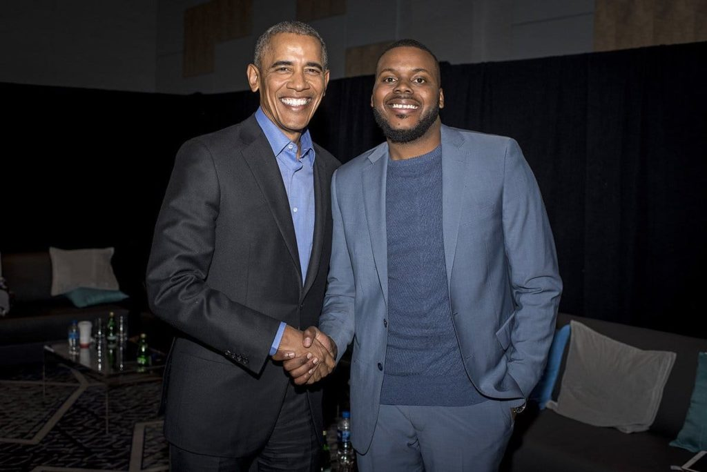 Mayor Michael Tubbs & Barack Obama