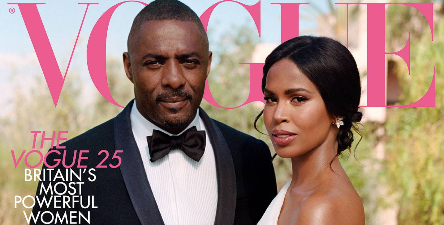 Idris Elba Sabrina Dhowre Vogue Cover