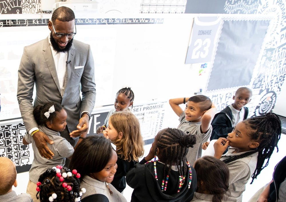 Kids At Lebron James I Promise Academy